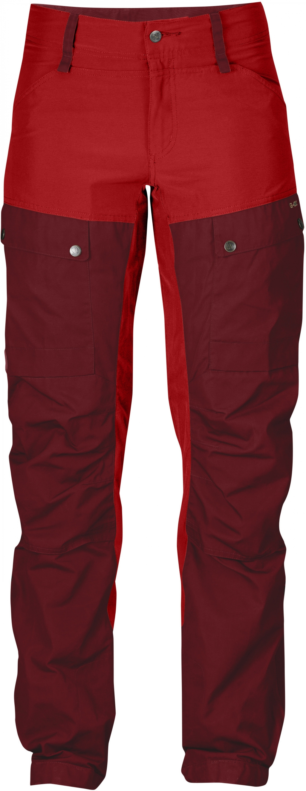 FjallRaven Keb Trousers W Curved Ox Red-30