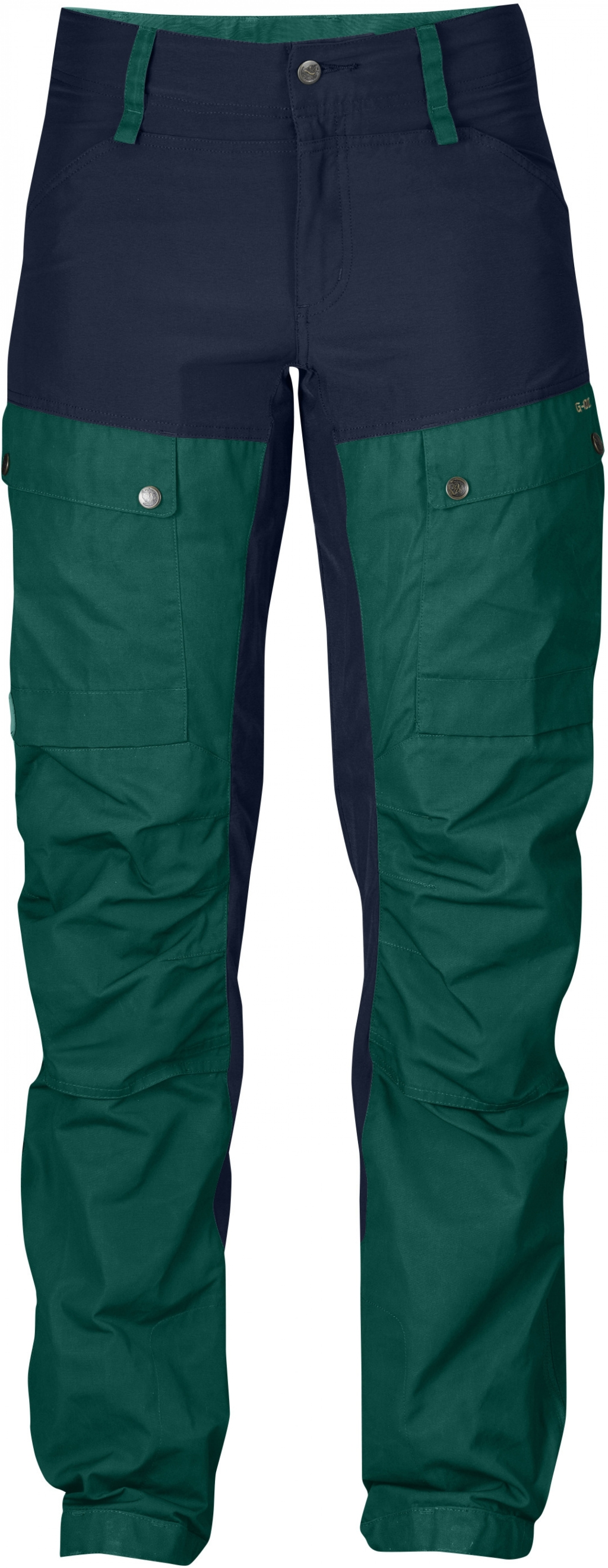 FjallRaven Keb Trousers W Curved Copper Green-30
