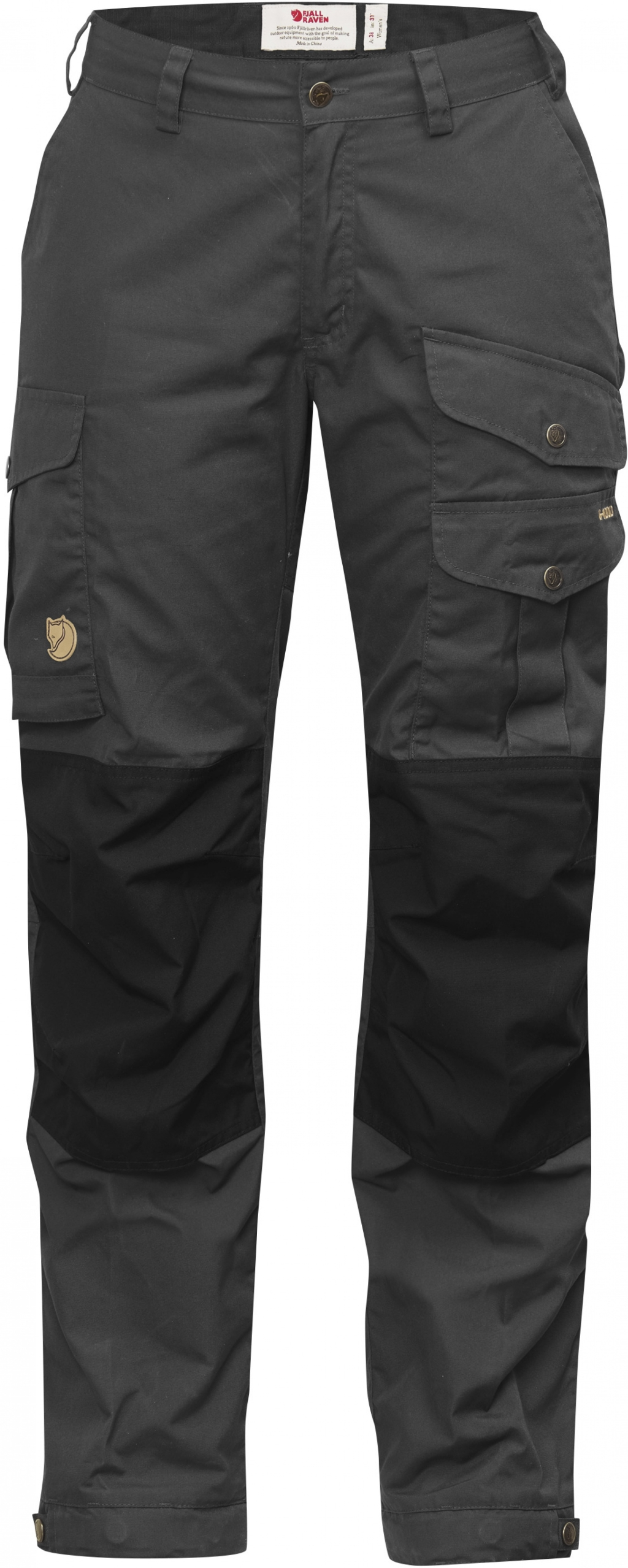FjallRaven Vidda Pro Trousers Curved W Dark Grey-30