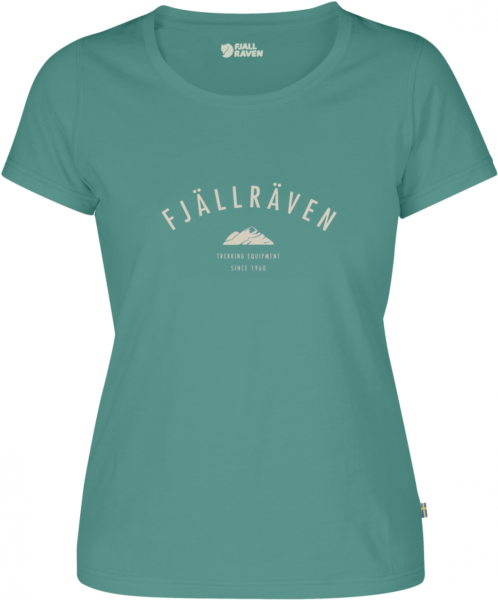 FjallRaven Trekking Equipment T-shirt W Copper Green-30