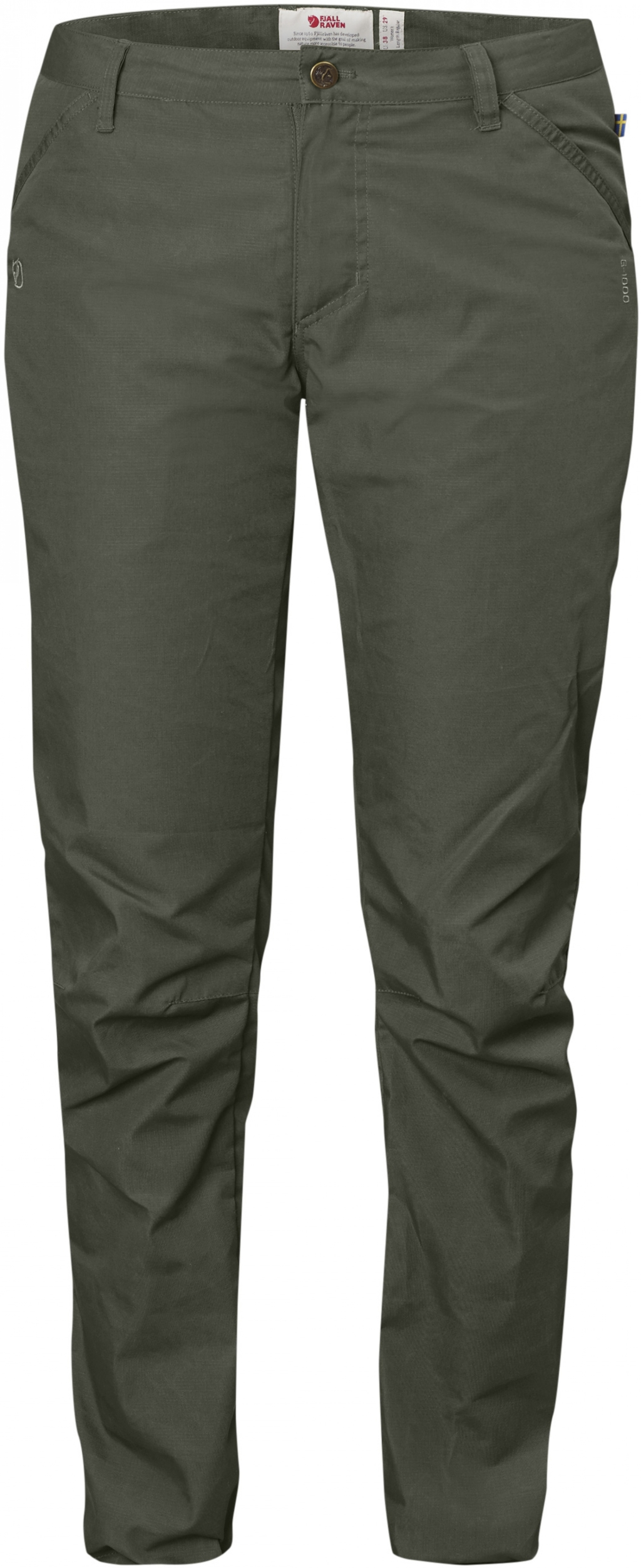 FjallRaven High Coast Trousers W Mountain Grey-30