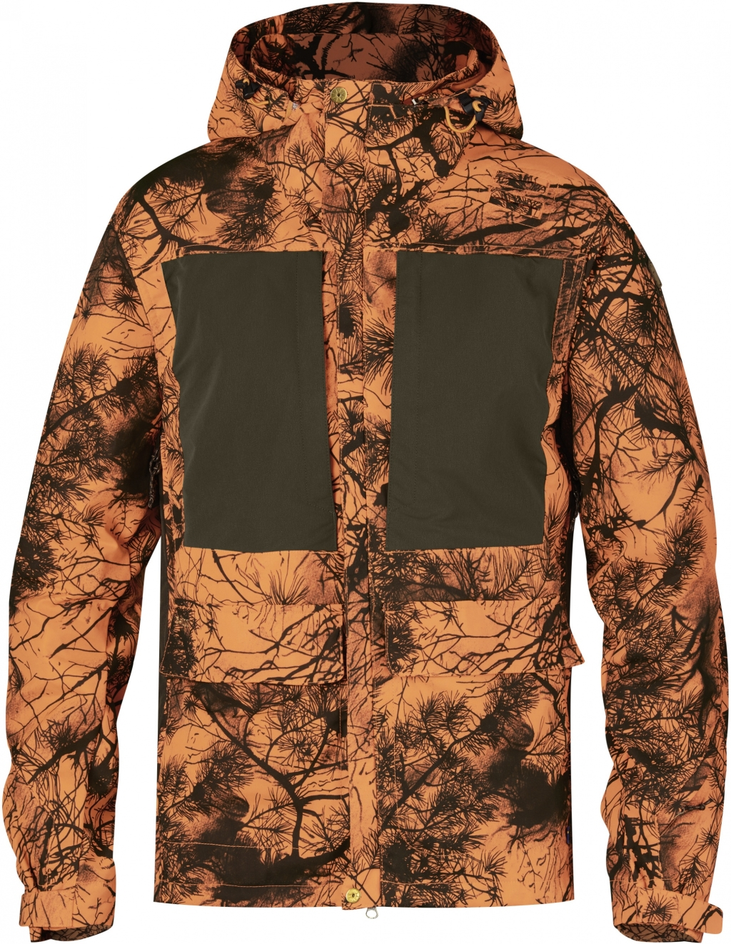 FjallRaven Lappland Hybrid Jacket Camo Orange Camo-30
