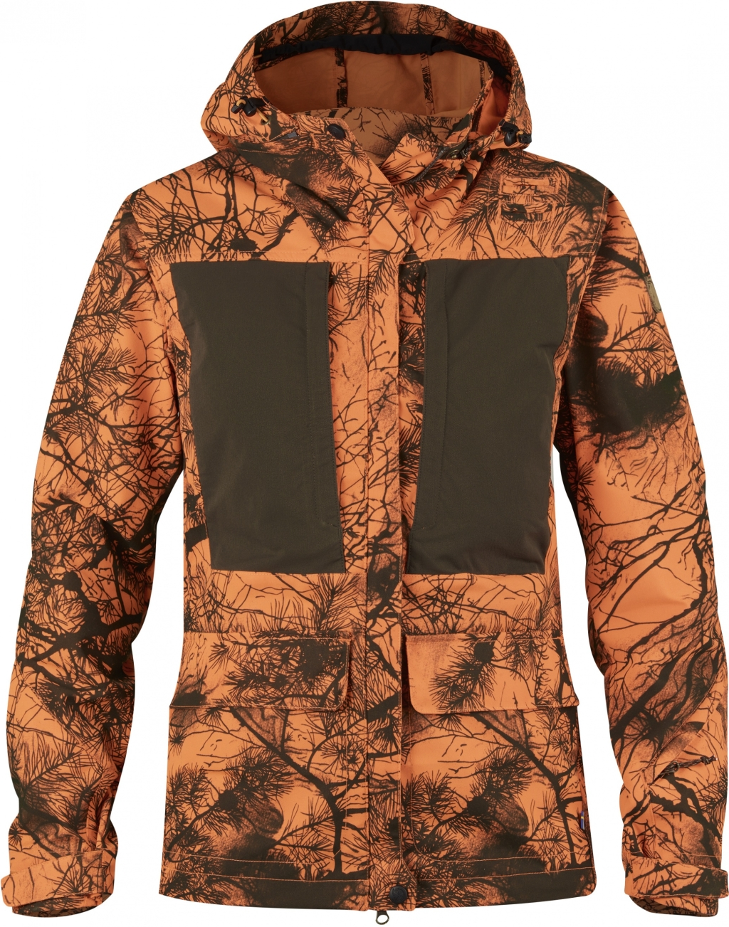 FjallRaven Lappland Hybrid Jacket Camo W Orange Camo-30
