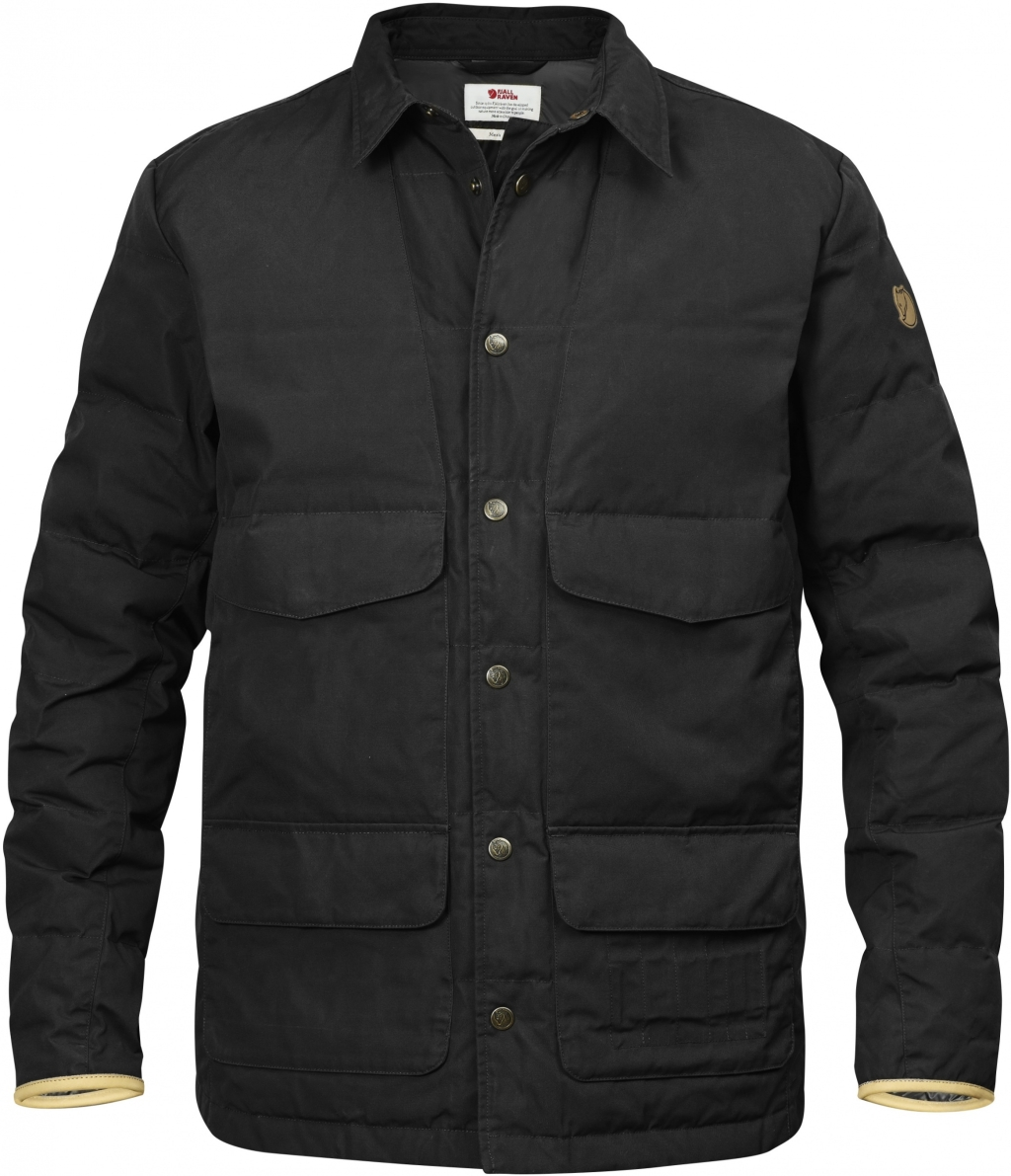 FjallRaven Sormland Down Shirt Jacket Dark Grey-30