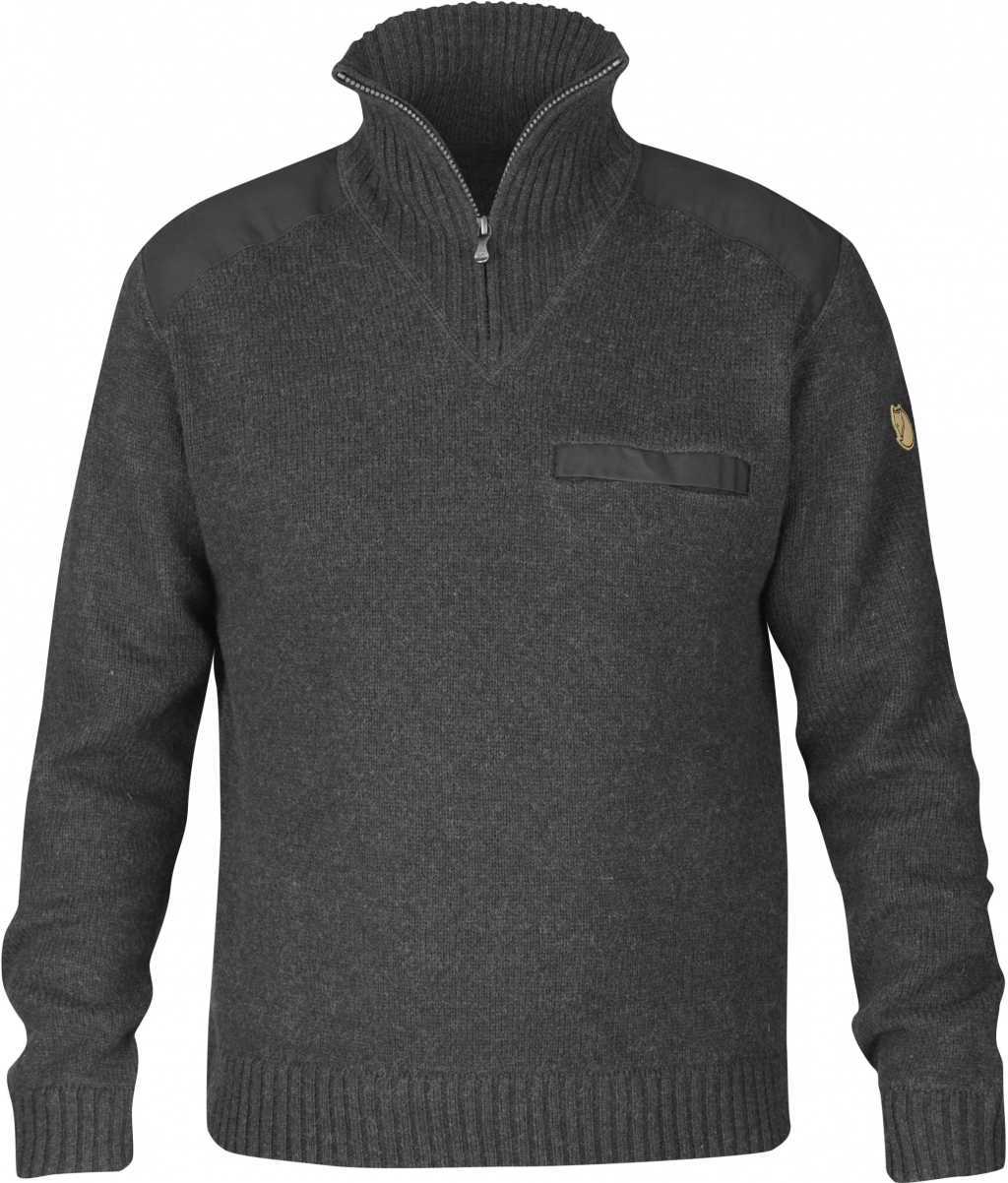 FjallRaven Koster Sweater Dark Grey-30