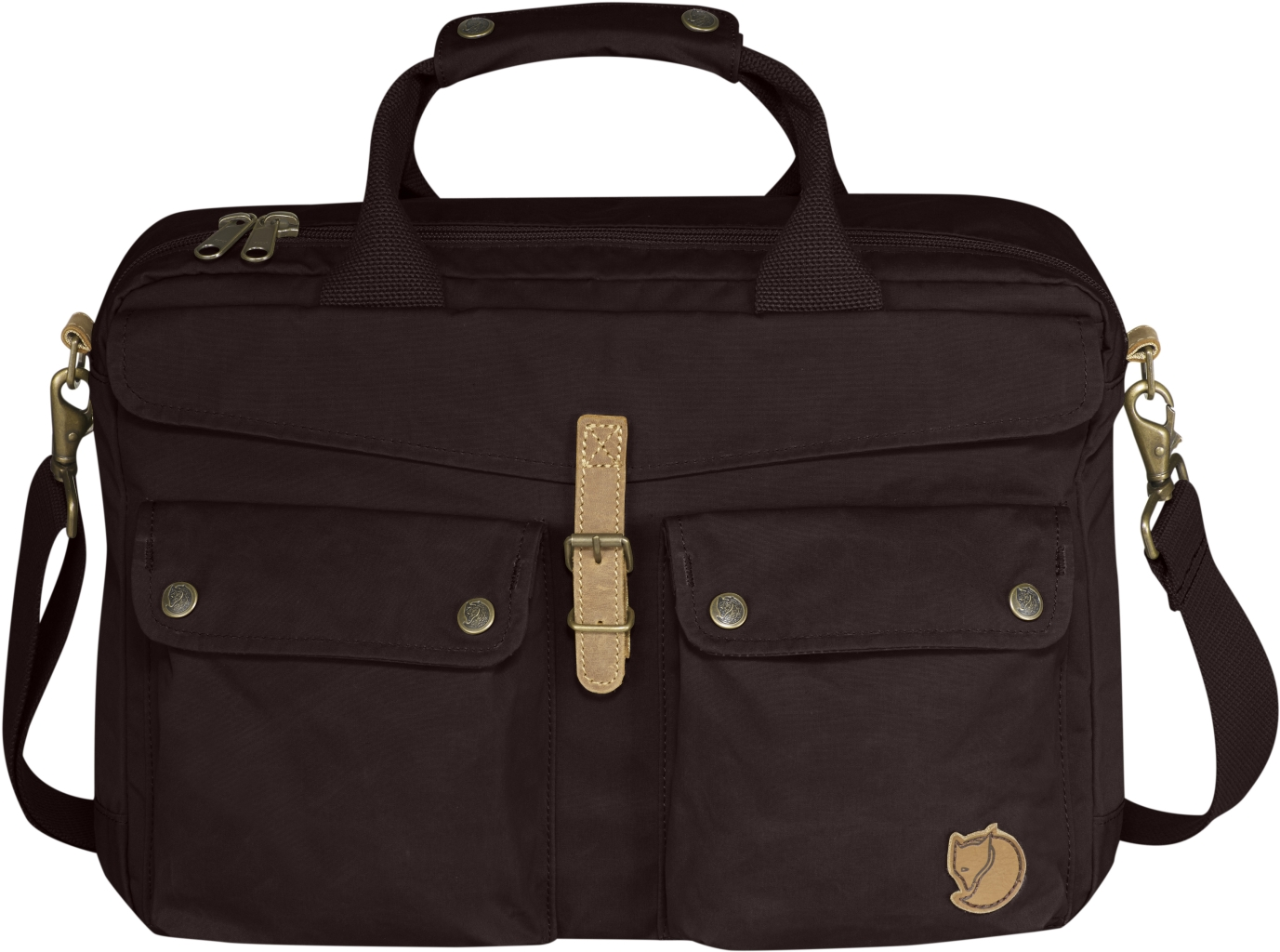 FjallRaven Greenland Briefcase Hickory Brown-30