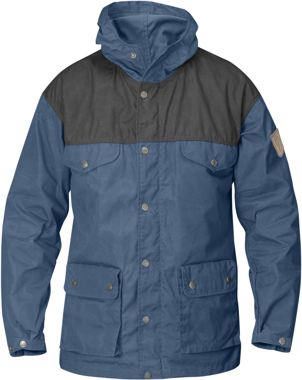 FjallRaven Greenland Jacket Uncle Blue-Dark Grey-30