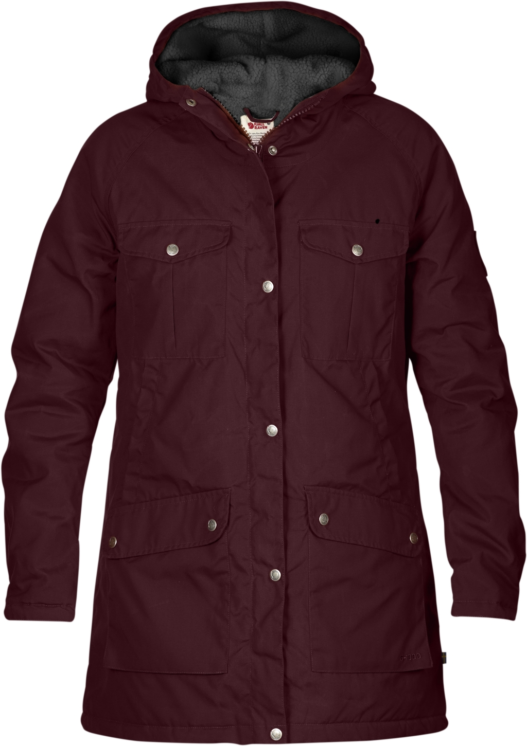 FjallRaven Greenland Winter Parka W Dark Garnet-30