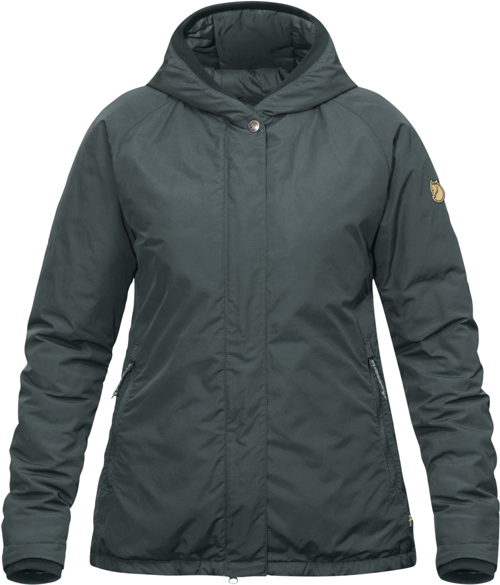 FjallRaven High Coast Padded Jacket W Ash Grey-30