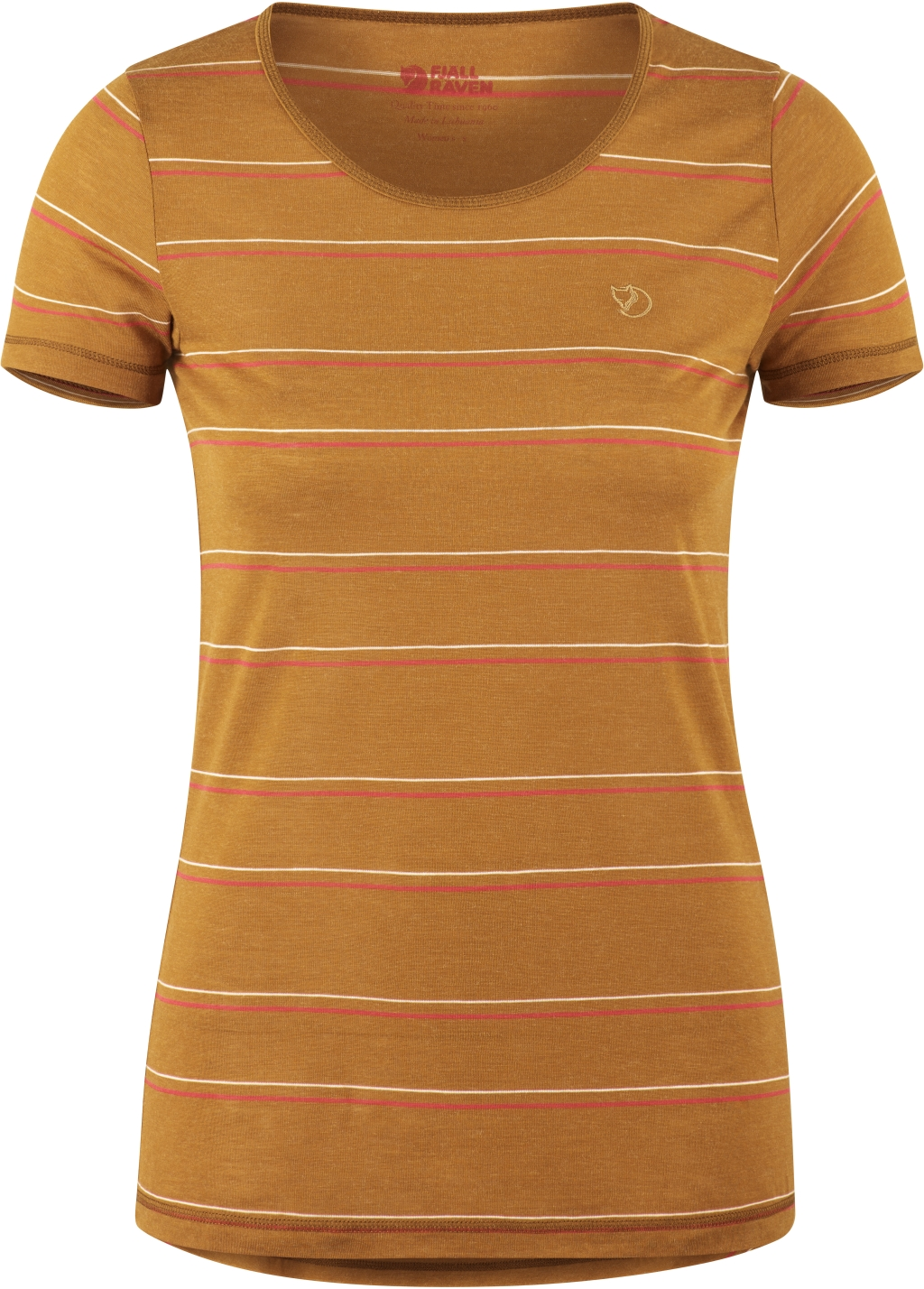 FjallRaven High Coast Stripe T-Shirt W Acorn-30
