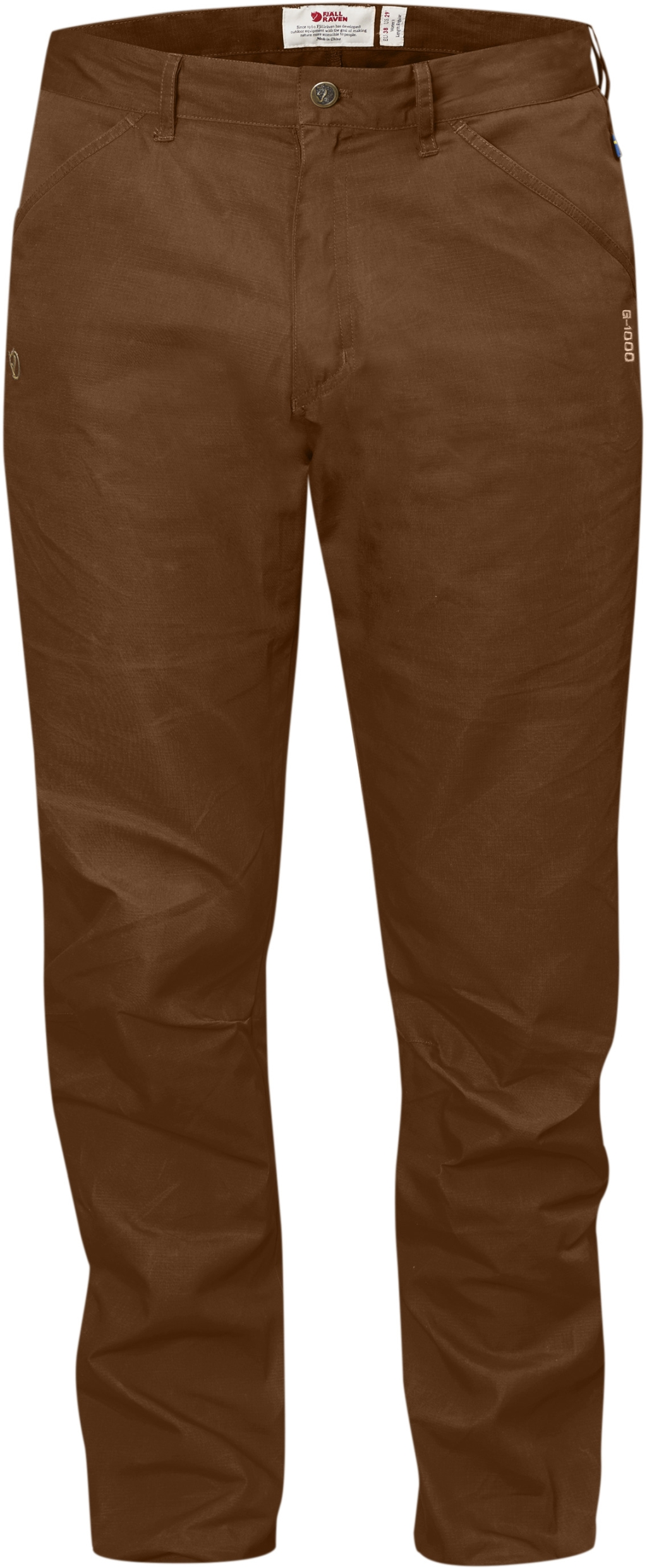 FjallRaven High Coast Trousers Chestnut-30