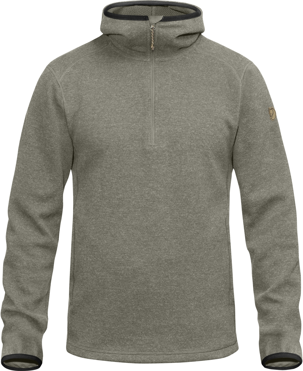 FjallRaven High Coast Wool Hoodie Fog-30