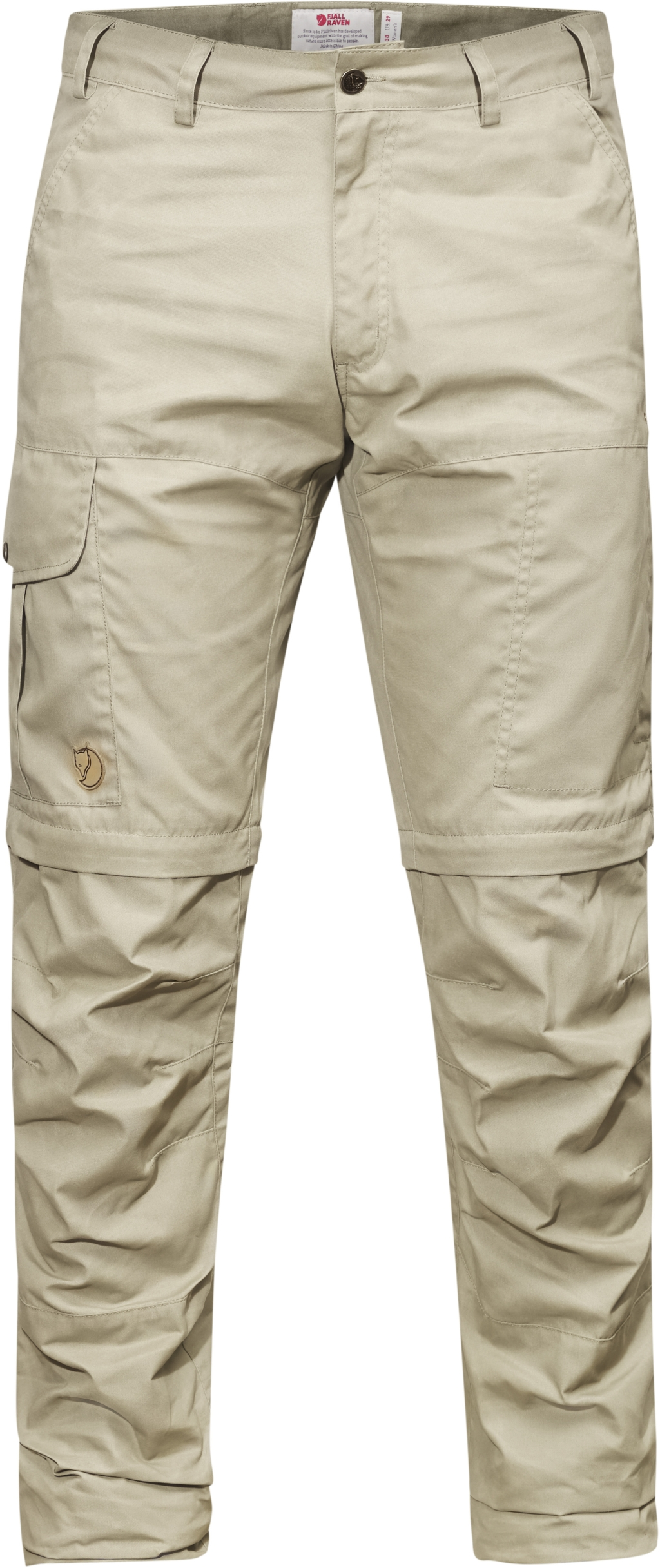FjallRaven Karl Pro Zip-Off Trousers Light Khaki-30