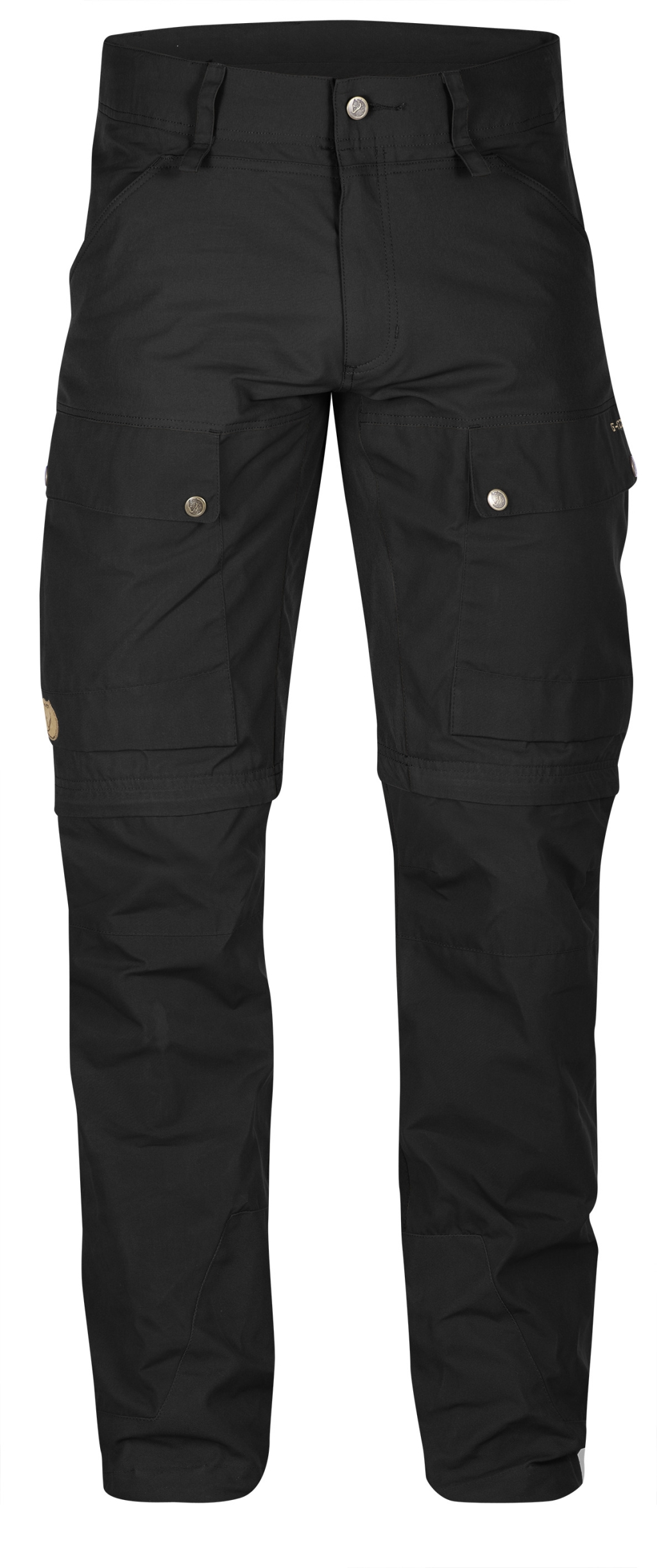 FjallRaven Keb Gaiter Trousers Long Black-Black-30