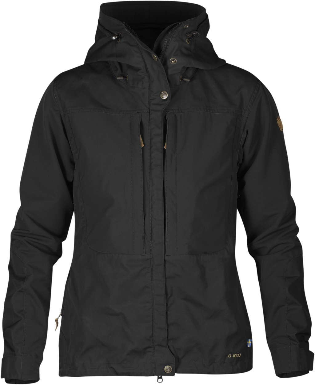 FjallRaven Keb Jacket W. Black-Black-30