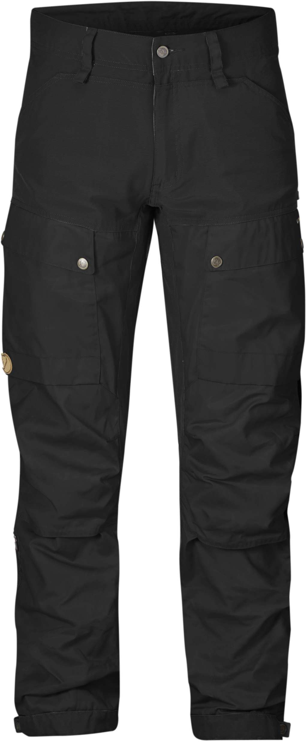 FjallRaven Keb Trousers Long Black-Black-30
