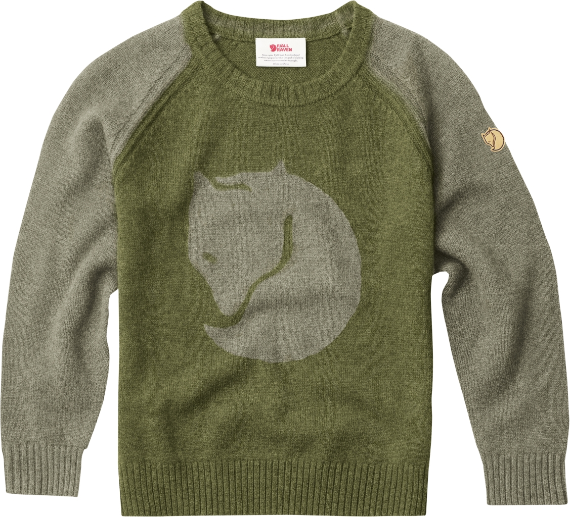 FjallRaven Kids Fox Sweater Fog-30