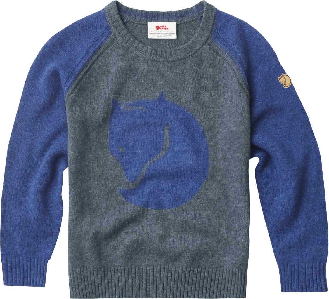 FjallRaven Kids Fox Sweater Uncle Blue-30
