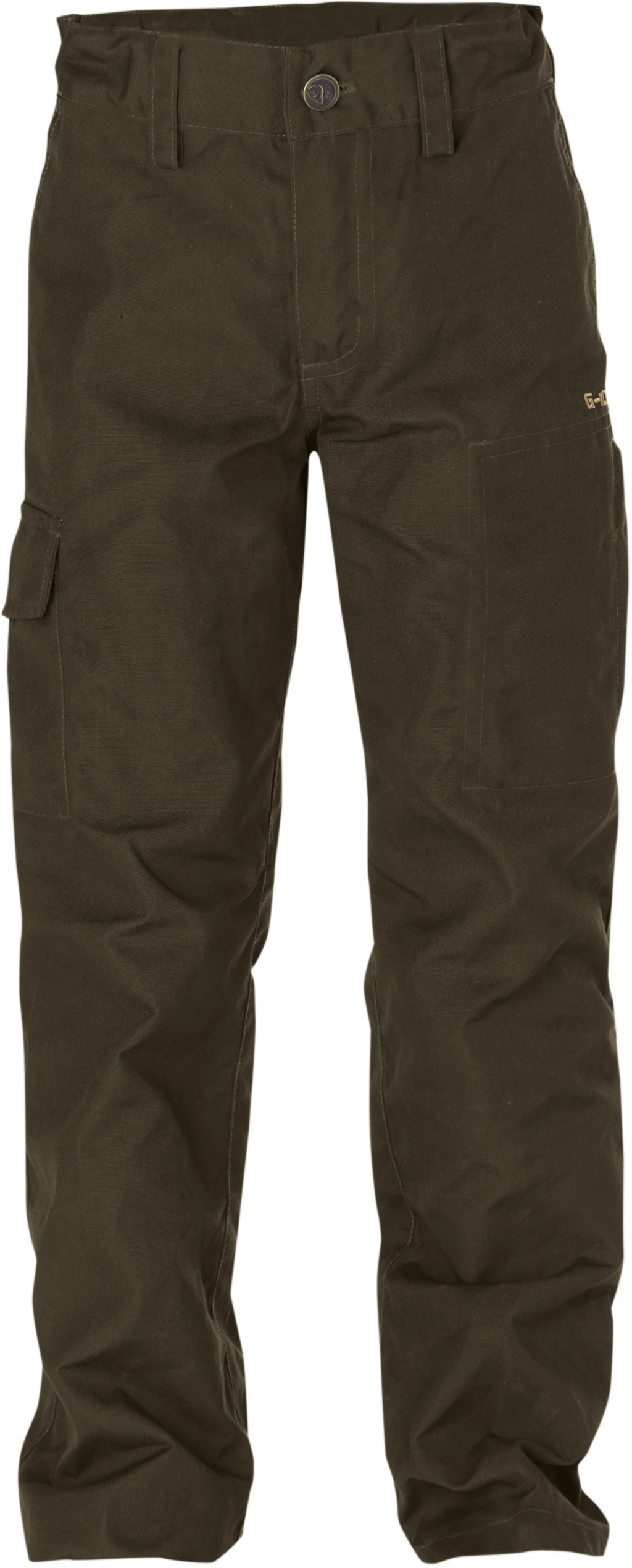 FjallRaven Kids Ovik Trousers Dark Olive-30