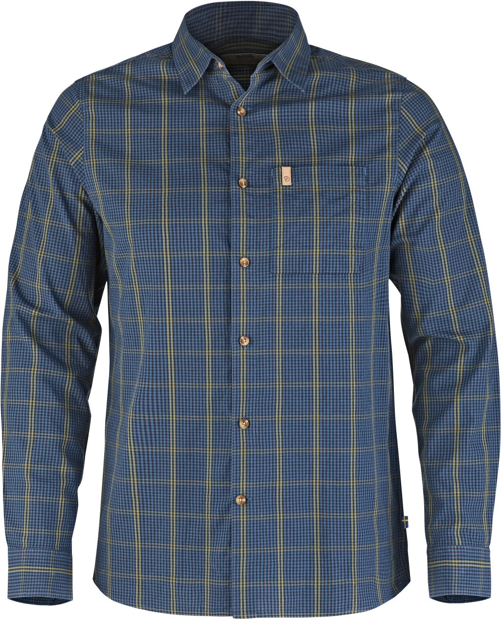 FjallRaven Kiruna Shirt LS Uncle Blue-30