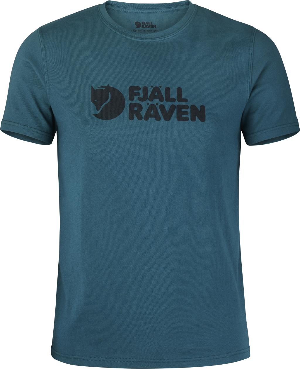 FjallRaven Logo T-shirt Glacier Green-30