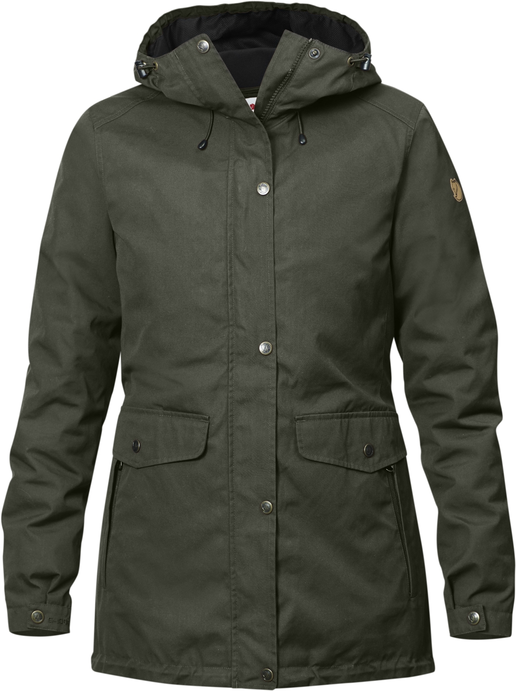 FjallRaven Ovik 3 in 1 Parka W Mountain Grey-30