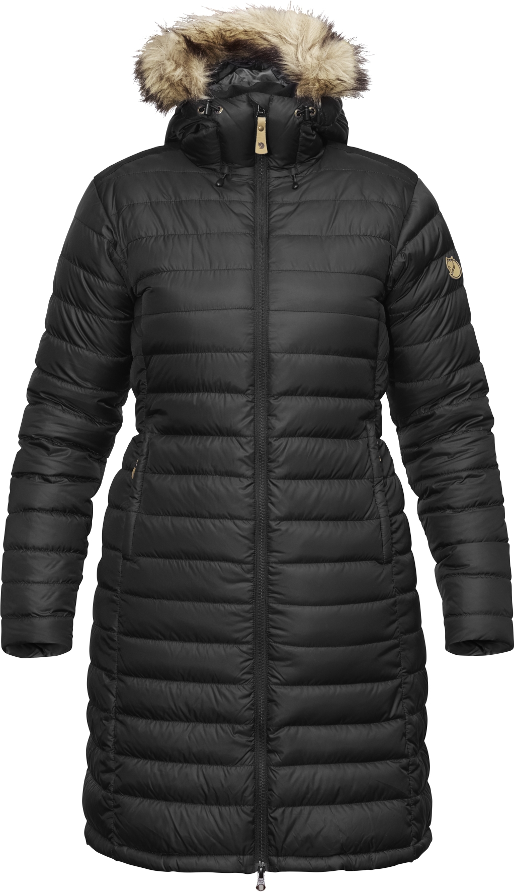 FjallRaven Ovik Down Parka W Black-30