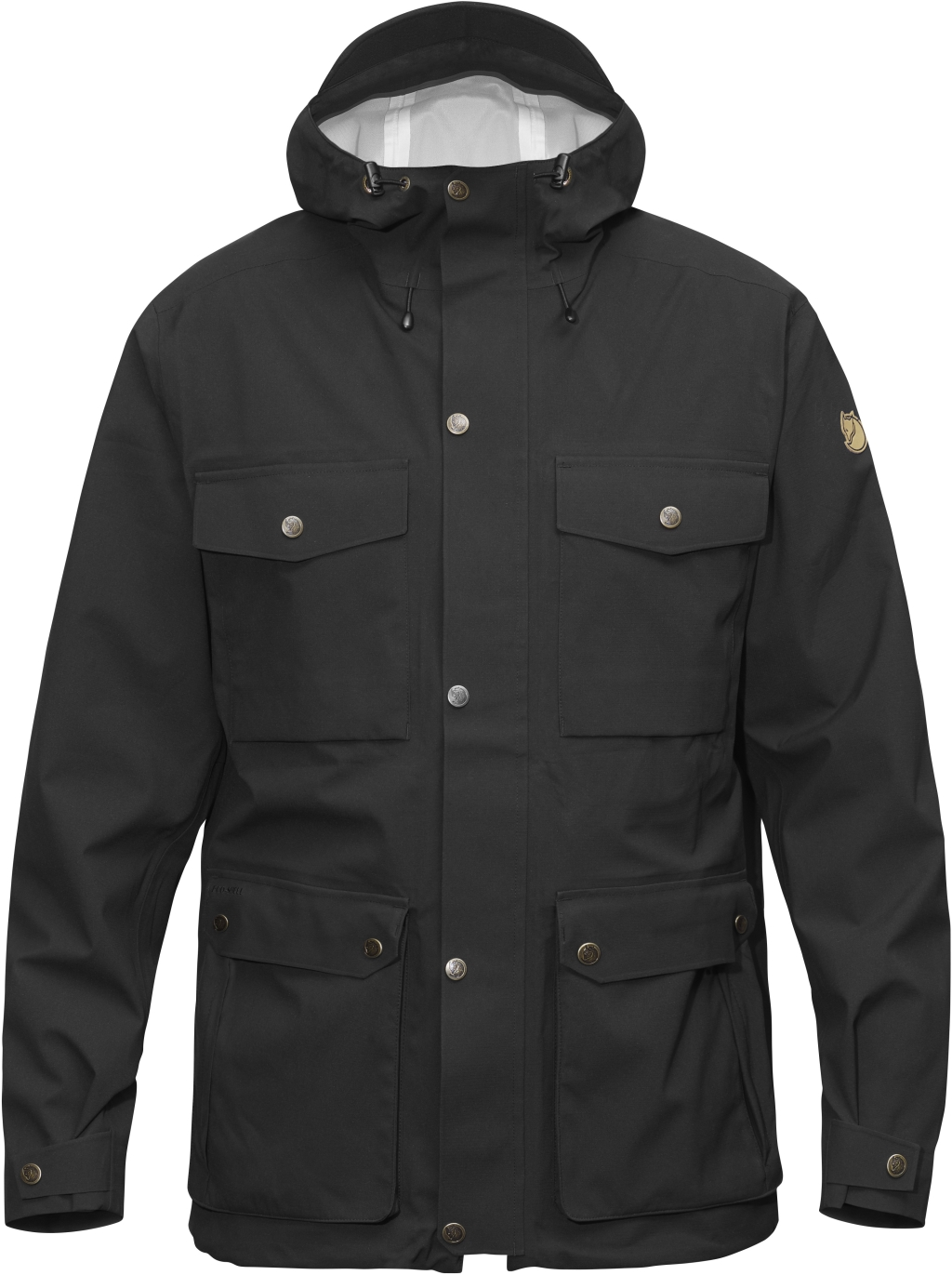 FjallRaven Ovik Eco-Shell Jacket Black-30