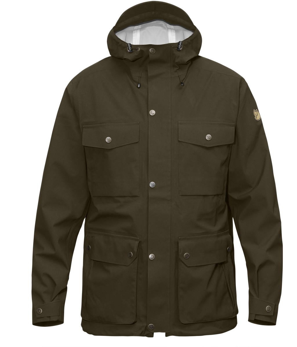 FjallRaven Ovik Eco-Shell Jacket Dark Olive-30