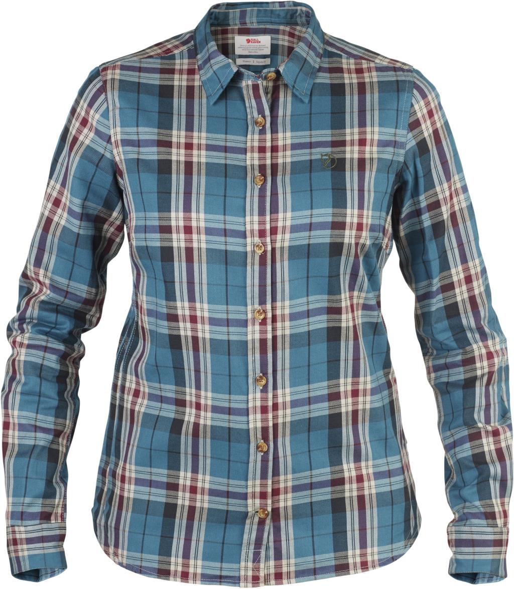 FjallRaven Ovik Flannel Shirt W Glacier Green-30