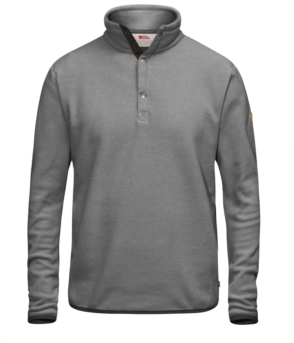 FjallRaven Ovik Fleece Sweater Grey-30
