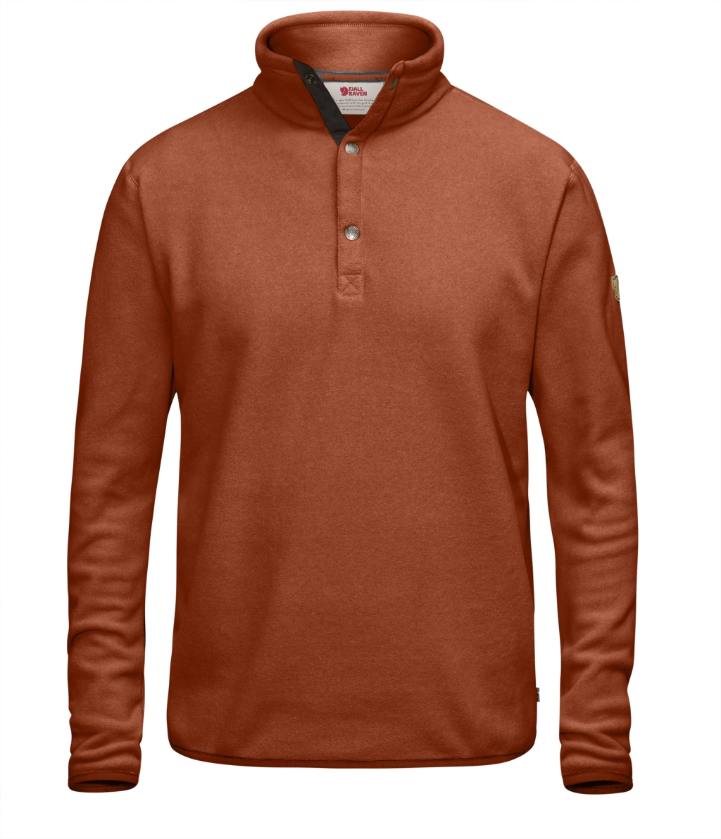 FjallRaven Ovik Fleece Sweater Autumn Leaf-30