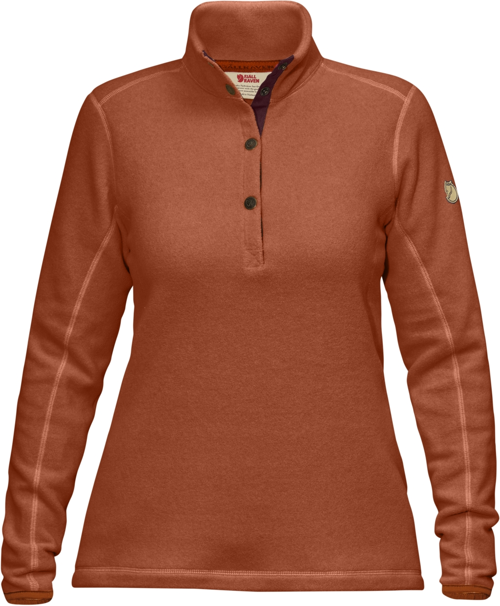 FjallRaven Ovik Fleece Sweater W Autumn Leaf-30
