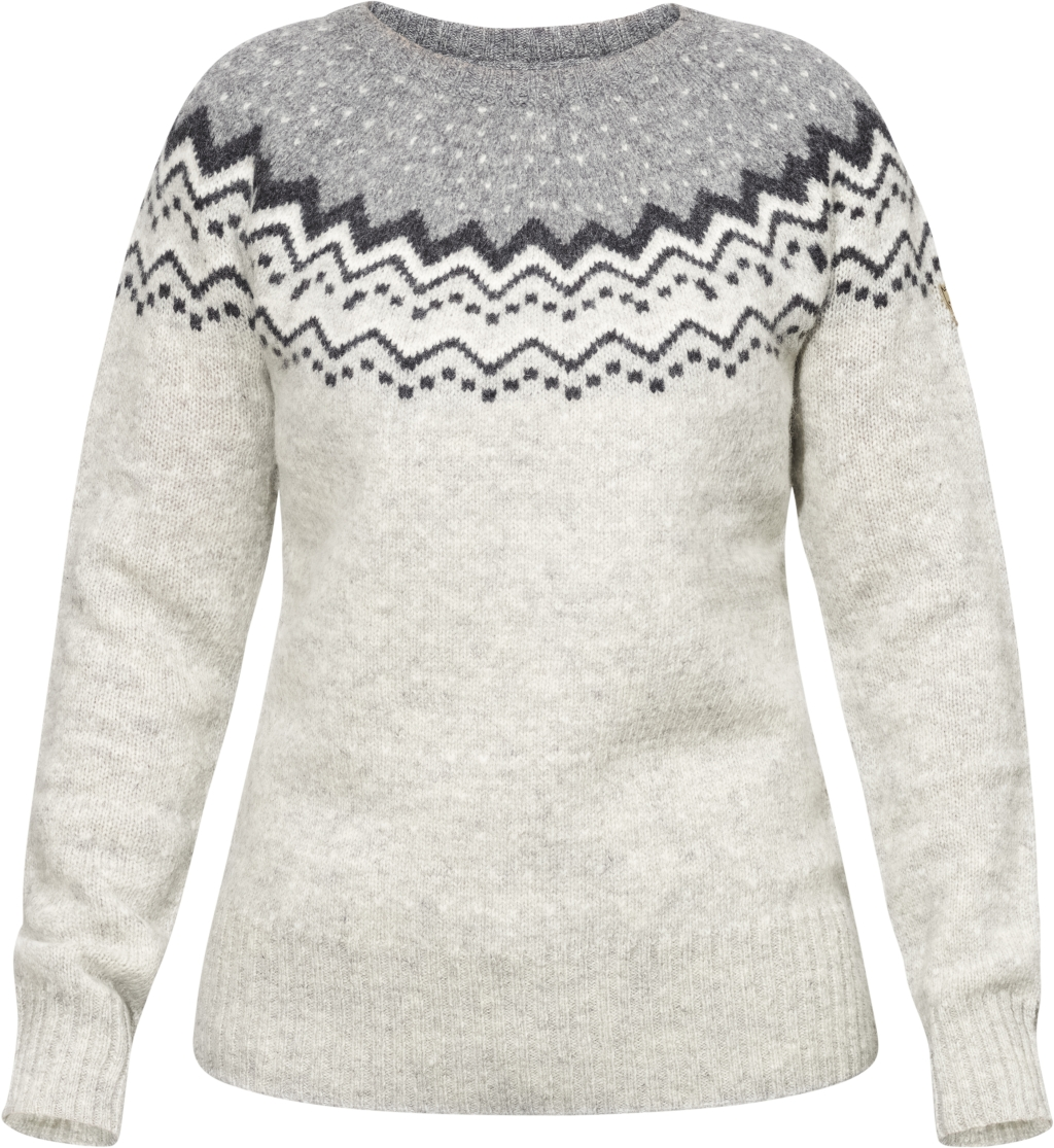 FjallRaven Ovik Knit Sweater W. Grey-30