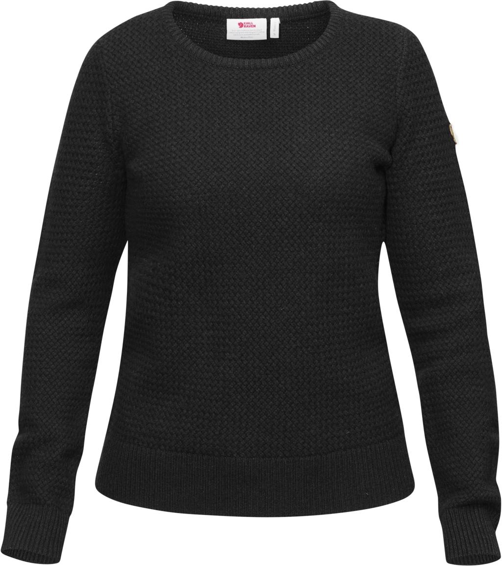 FjallRaven Ovik Structure Sweater W Dark Grey-30