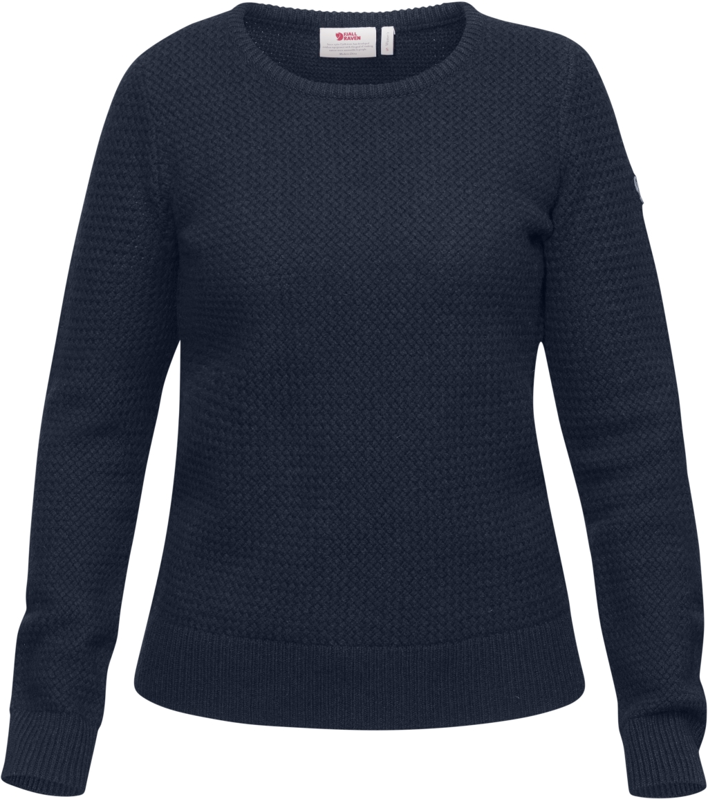 FjallRaven Ovik Structure Sweater W Dark Navy-30