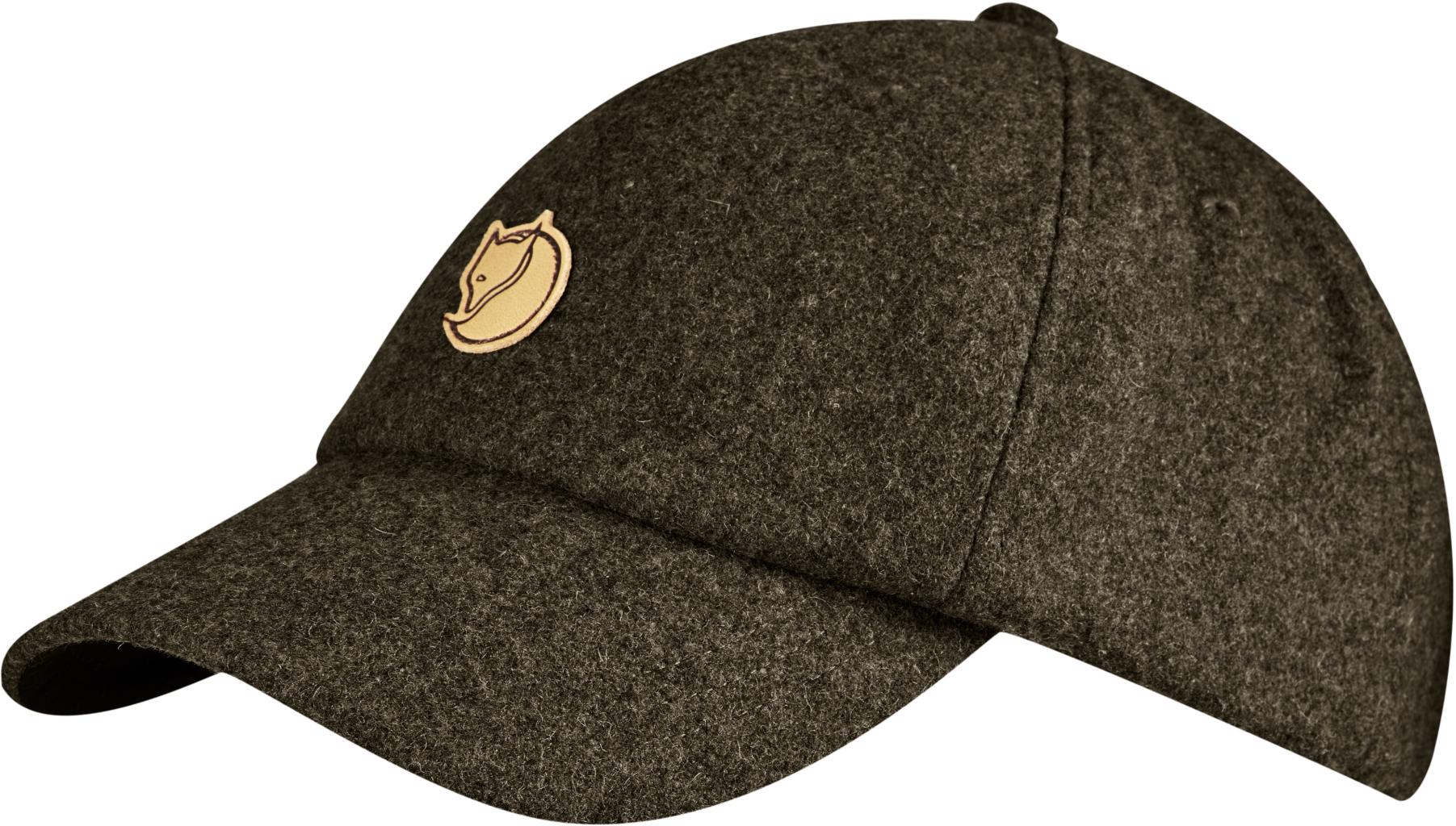 FjallRaven Ovik Wool Cap Dark Olive-30