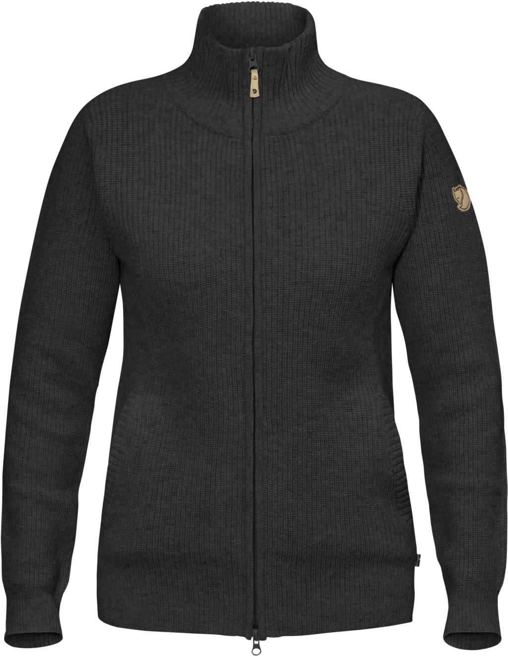 FjallRaven Ovik Zip Cardigan W Dark Grey-30