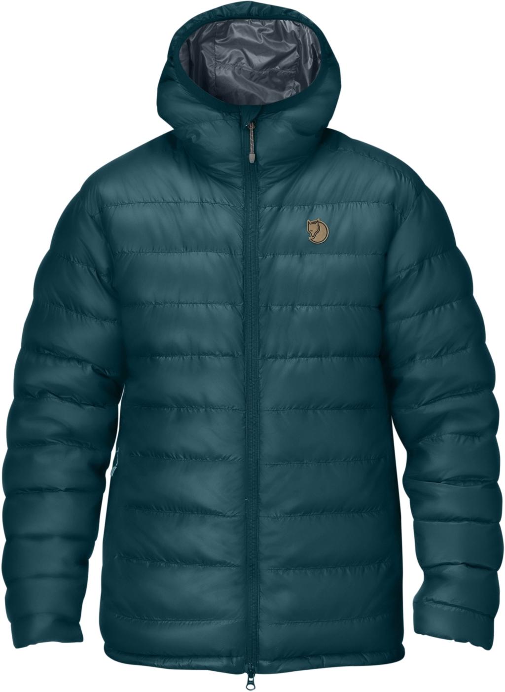 FjallRaven Pak Down Jacket Glacier Green-30