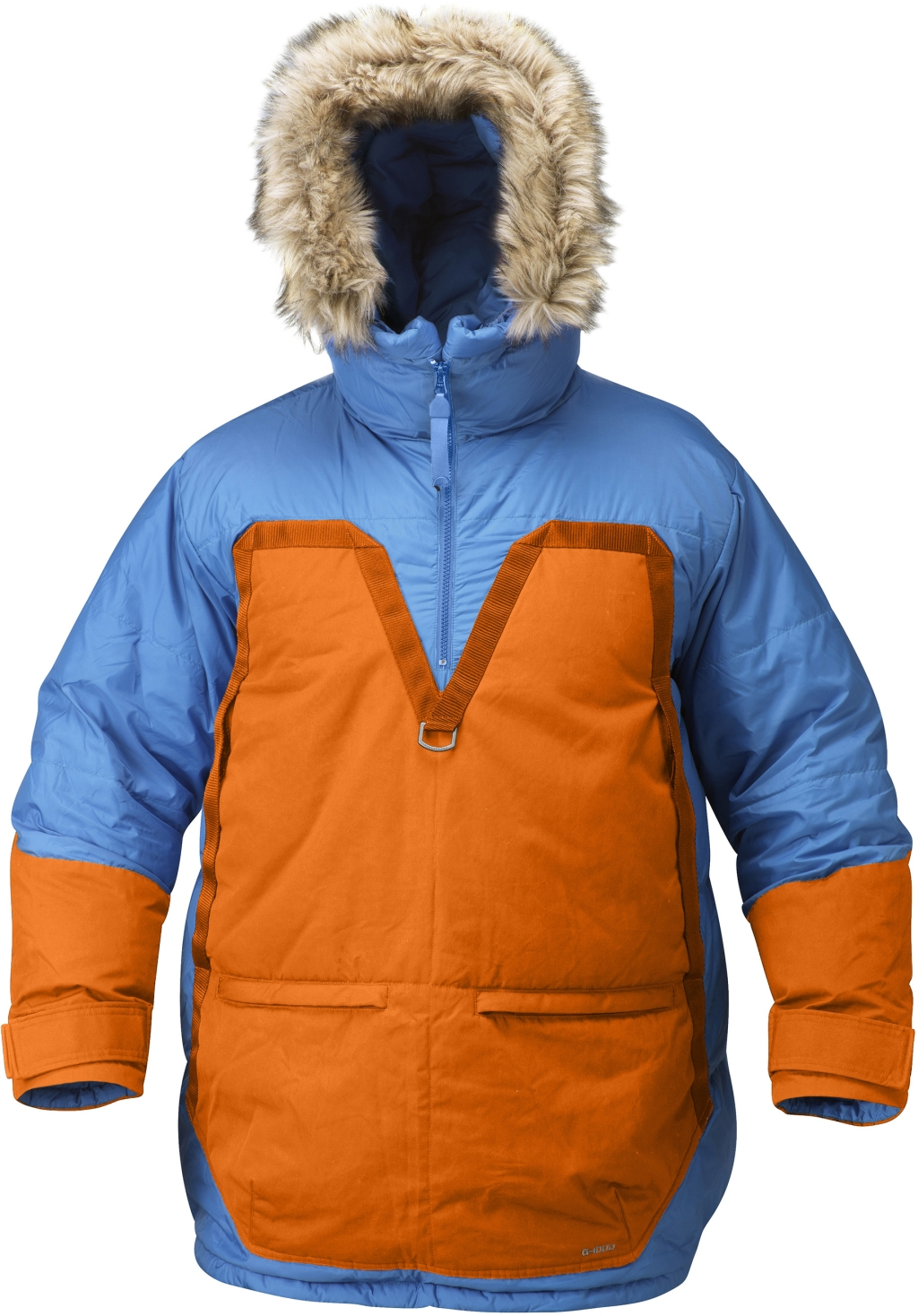 FjallRaven Fjallraven Polar Parka UN Blue-Burnt Orange-30