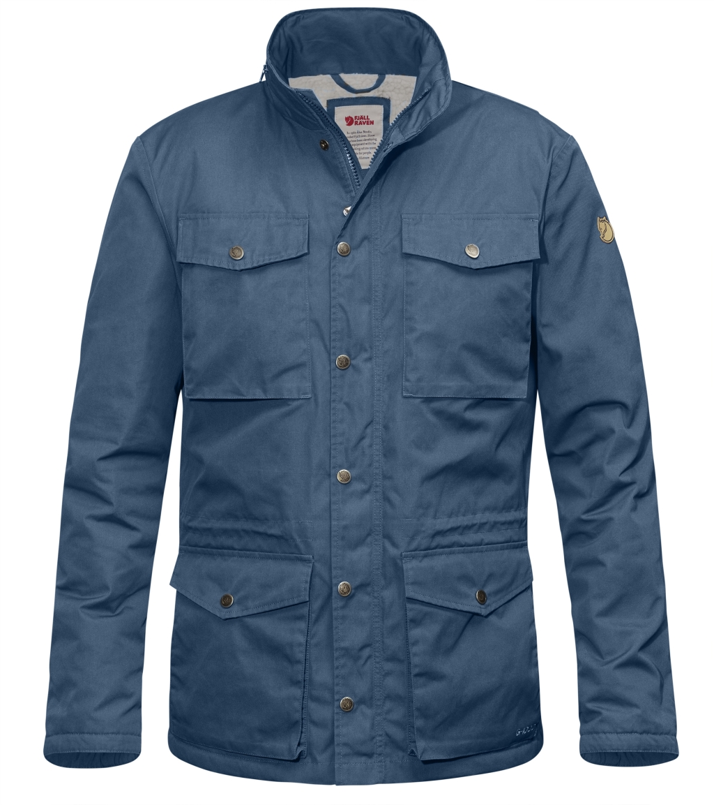 FjallRaven Raven Winter Jacket Uncle Blue-30