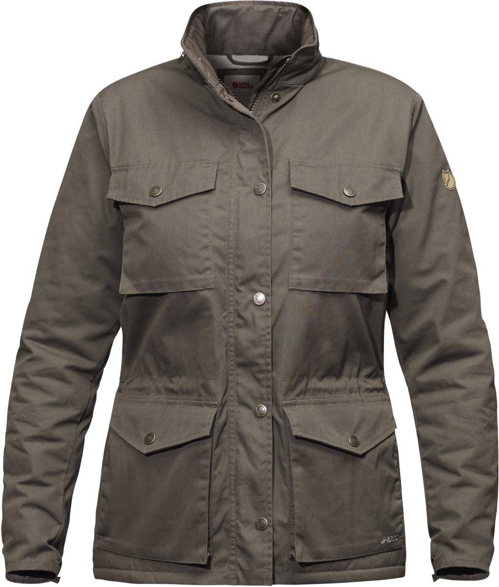 FjallRaven Raven Winter Jacket W Mountain Grey-30