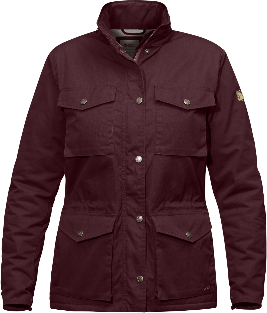 FjallRaven Raven Winter Jacket W Dark Garnet-30