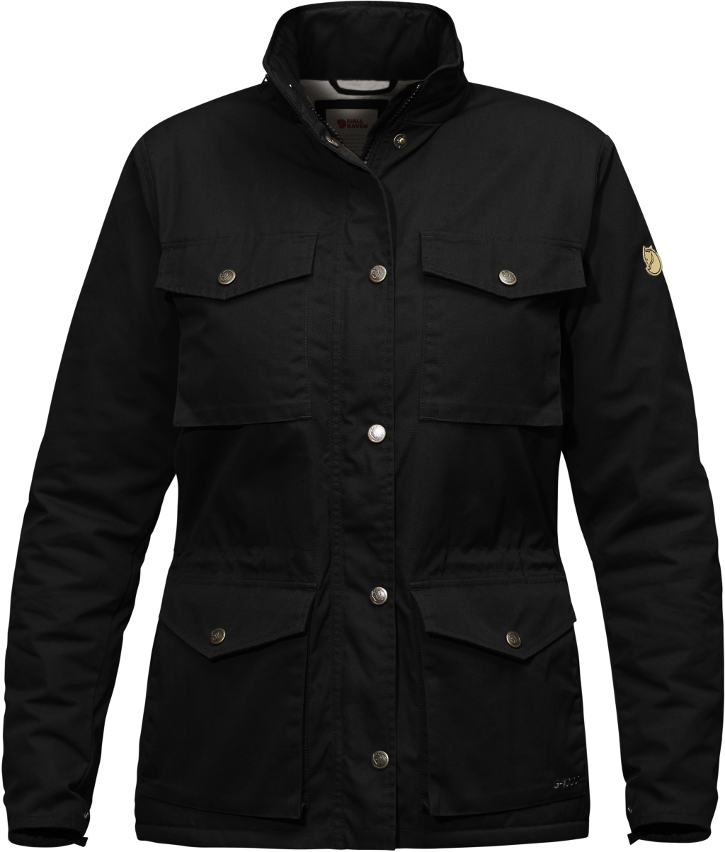 FjallRaven Raven Winter Jacket W Black-30