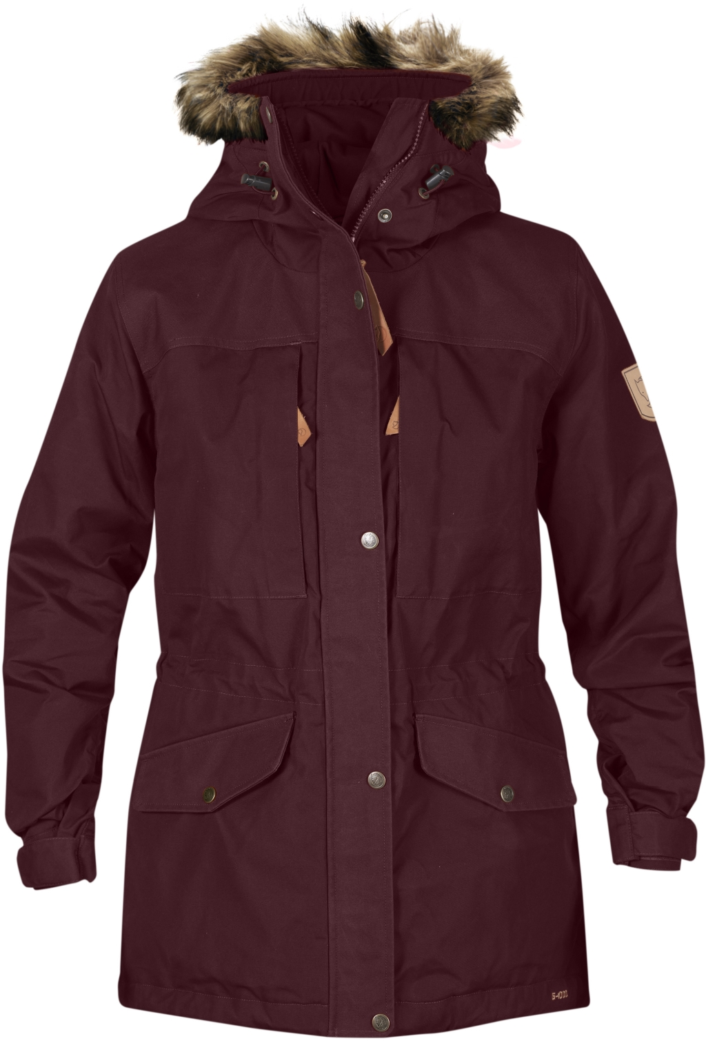 FjallRaven Singi Winter Jacket W. Dark Garnet-30