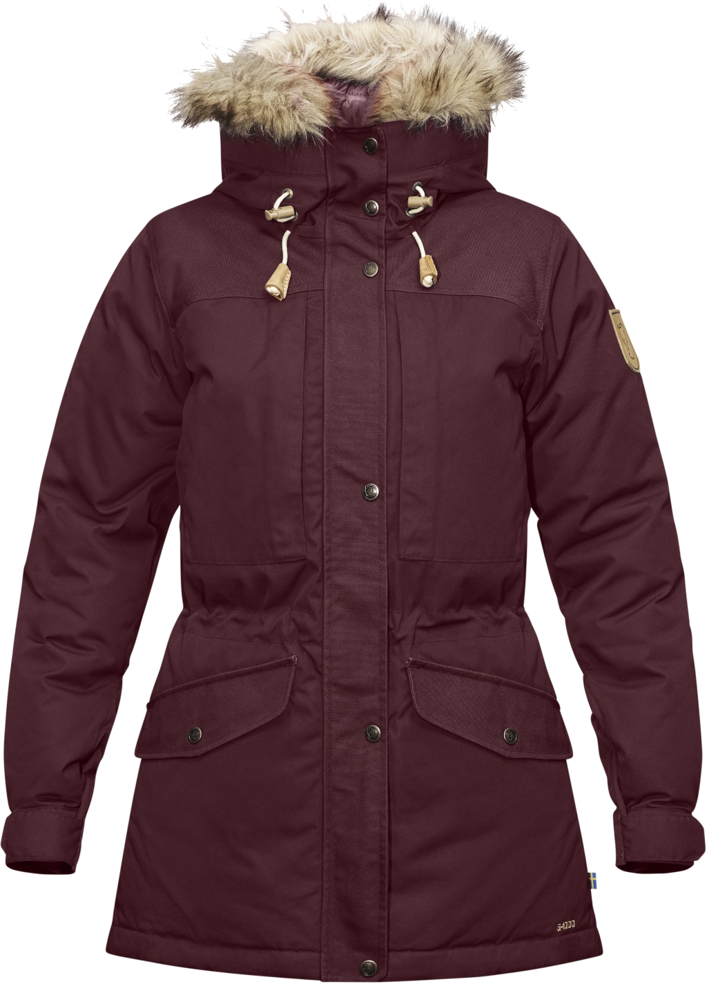 FjallRaven Singi Down Jacket W Dark Garnet-30