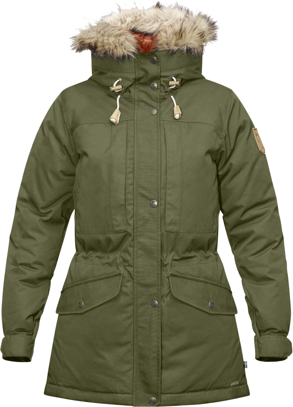 FjallRaven Singi Down Jacket W Green-30