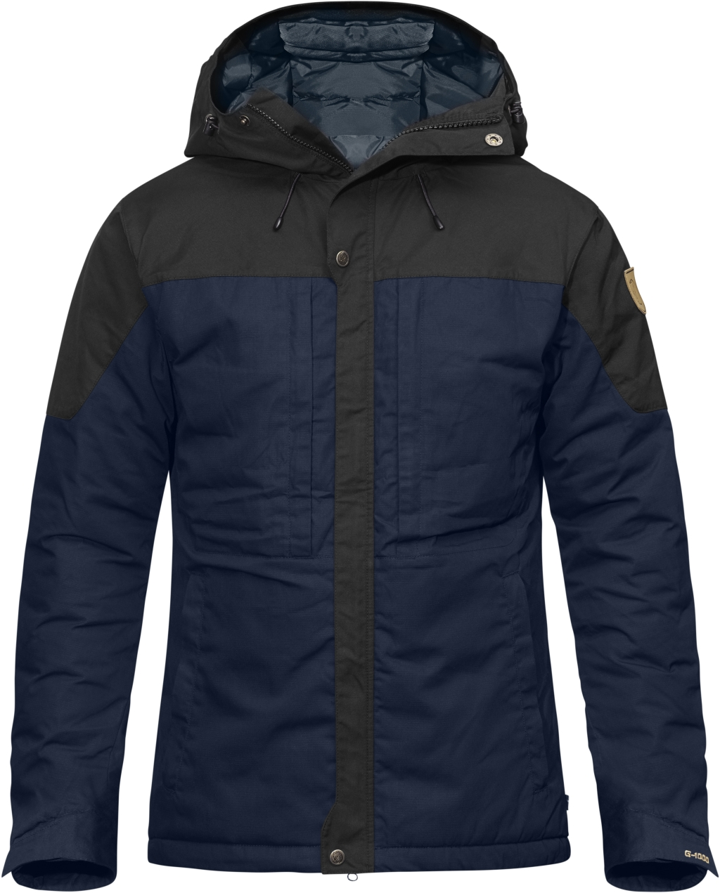 FjallRaven Skogso Padded Jacket Dark Navy-Dark Grey-30