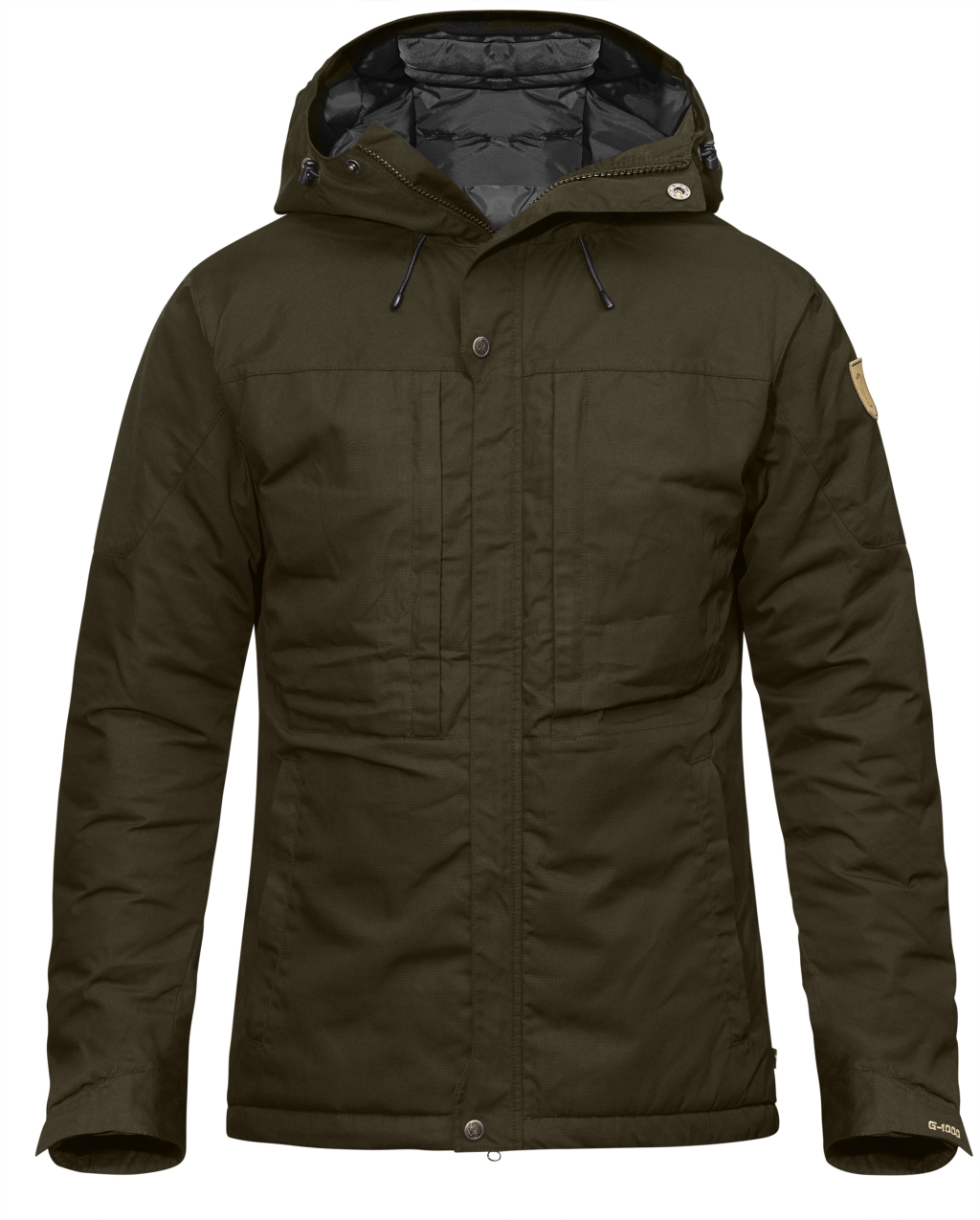 FjallRaven Skogso Padded Jacket Dark Olive-30