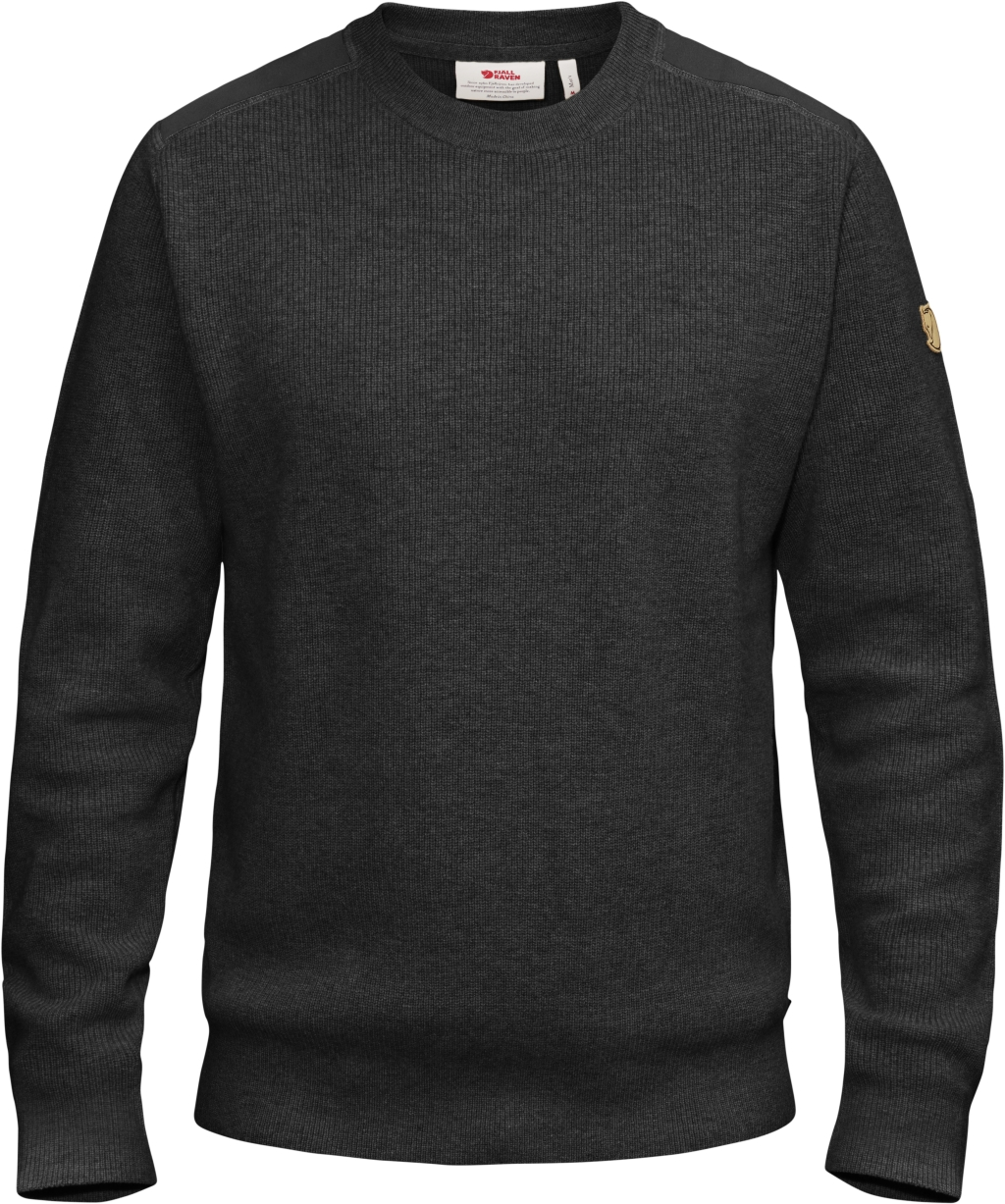 FjallRaven Sormland Crew Sweater Dark Grey-30